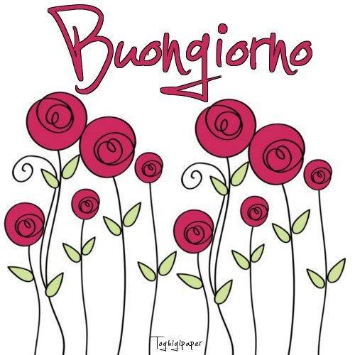 Stickers Buongiorno Gratis