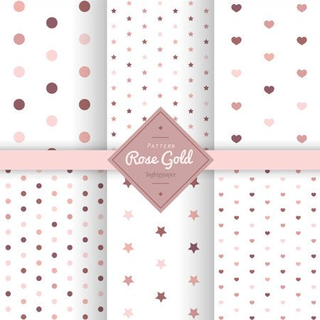 Pattern rose gold free download