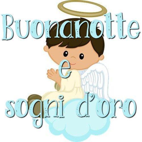Buonanotte immagini angeli toghigi paper for Nuove immagini per whatsapp