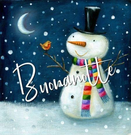Buongiorno Buonanotte Inverno Toghigipaper